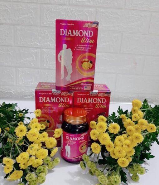 Viên uống Giảm cân Diamond Slim USA